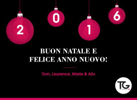 Buon Natale & Felice Anno Nuovo 2016